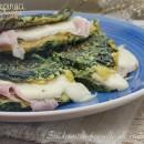 Frittata di spinaci con prosciutto e provola