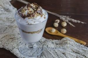 Coppa al mascarpone caffè e nutella