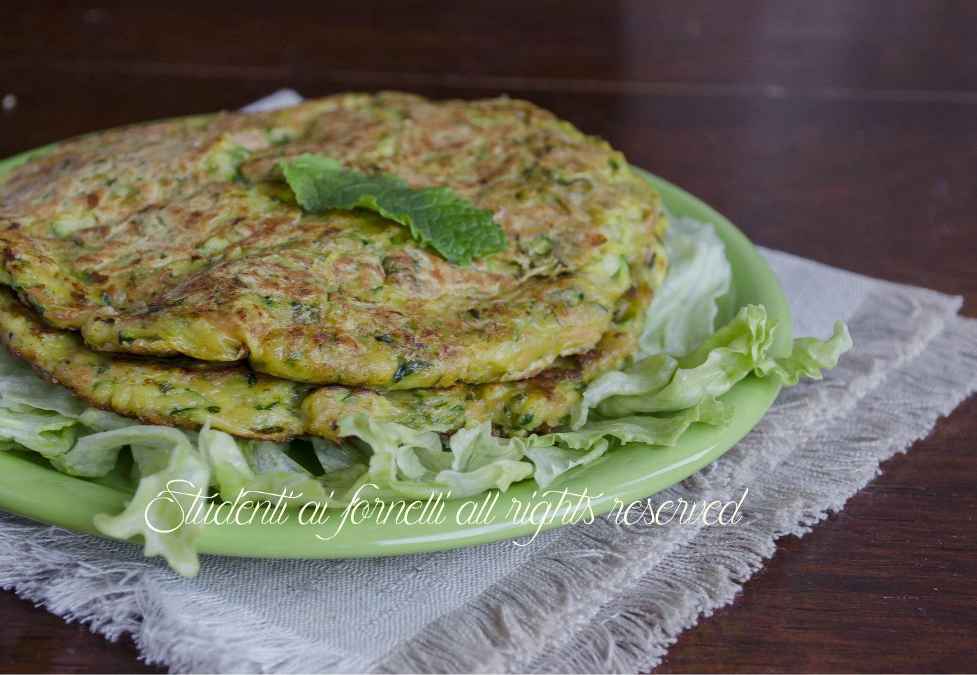 Frittelle di tonno e zucchine alla menta non fritte ricetta for Cucinare zucchine in padella