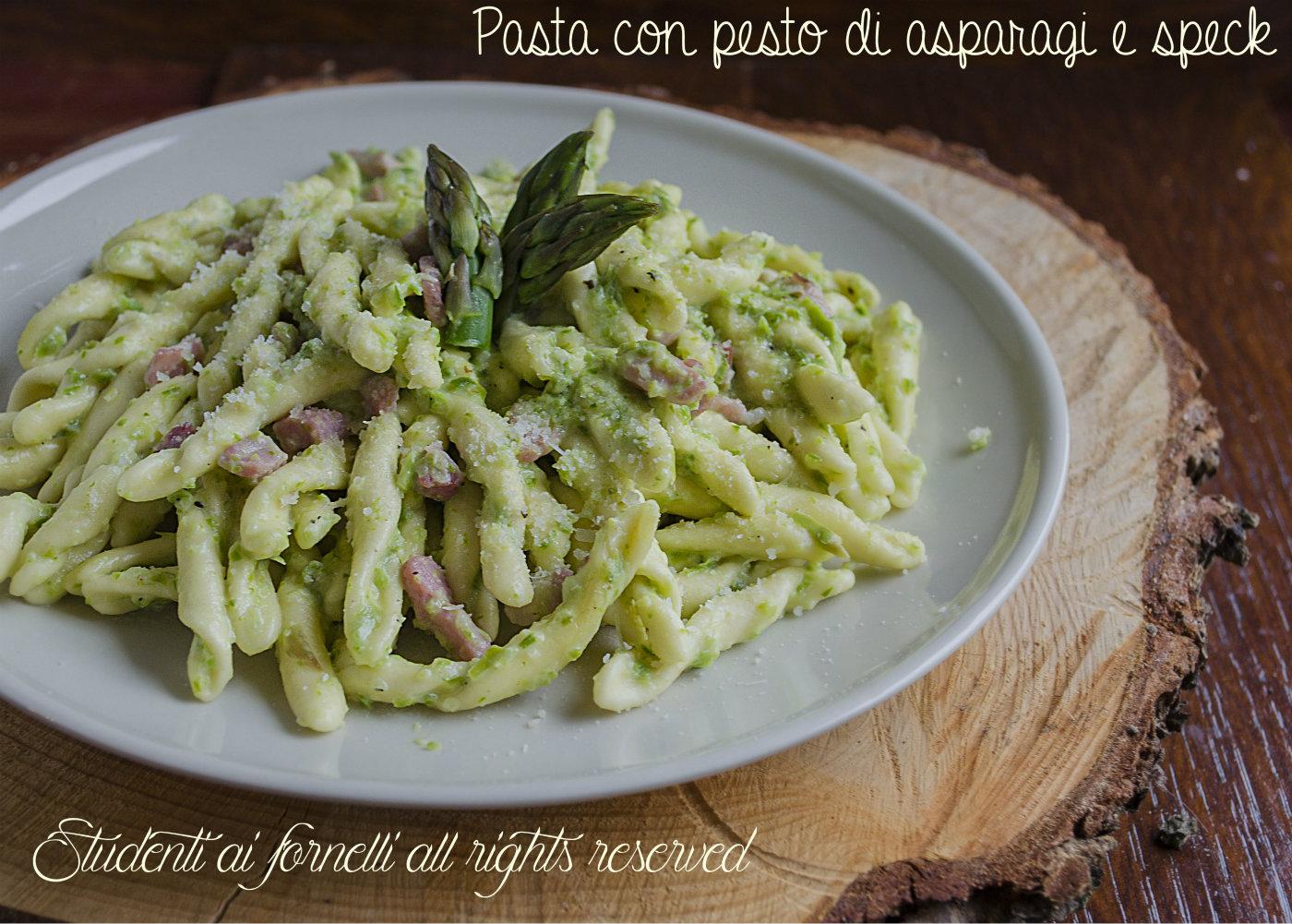 Ricetta pasta con le trofie