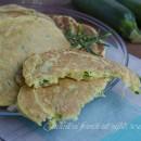 Pancakes di zucchine e asiago