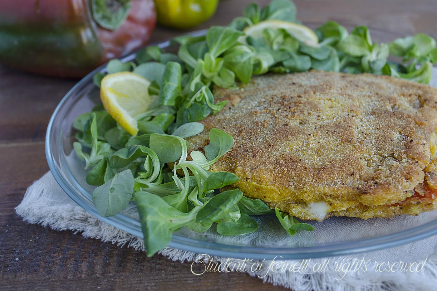 cordon bleu di peperoni con prosciutto e scamorza ricetta secondo piatto gustoso