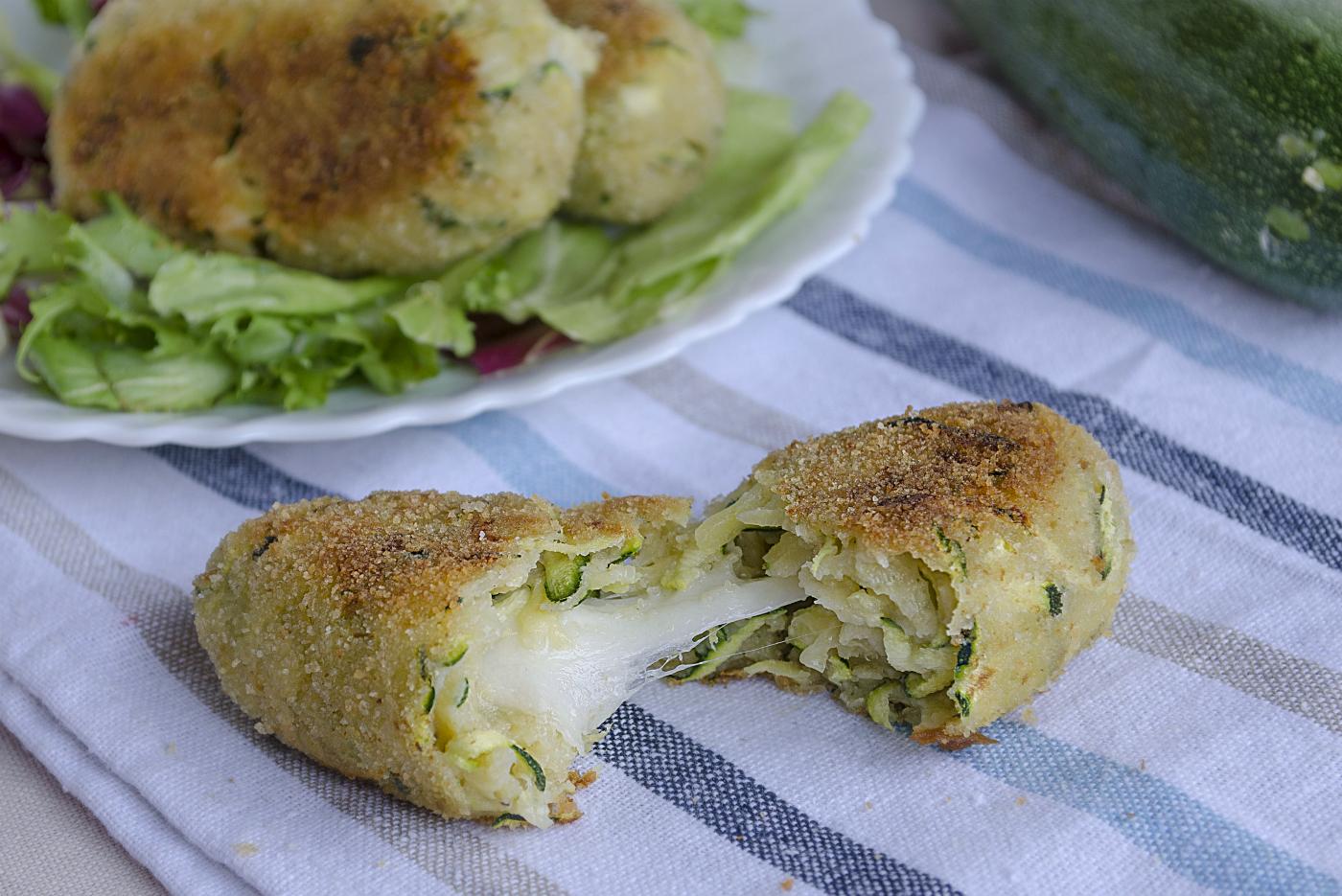 Crocchette Di Zucchine Tonno E Patate Non Fritte Ricetta