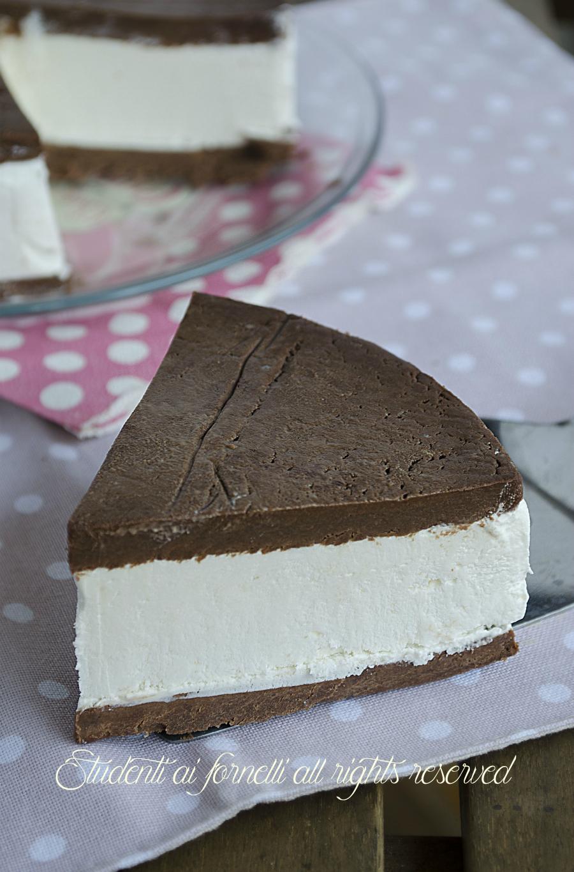 Super Torta fredda kinder fetta a latte fresca e golosa, ricetta HH23