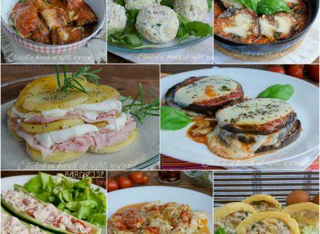 Secondi piatti estivi freddi e caldi