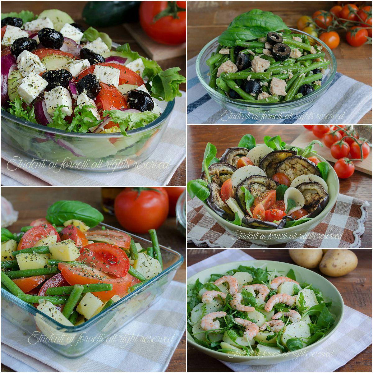Insalate fredde estive e piatti unici ricette sfiziose for Ricette insalate