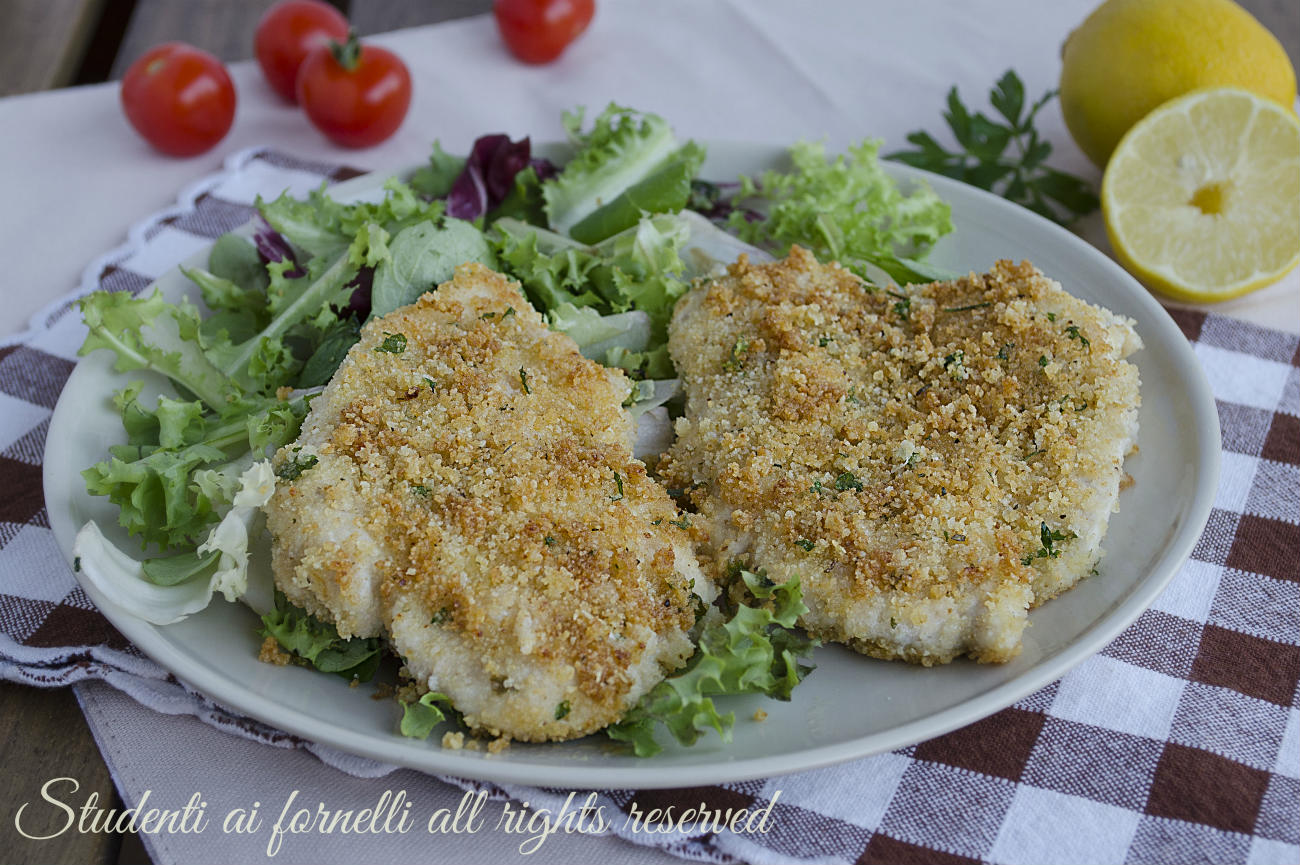 cotolette al parmigiano e prezzemolo panatura senza uova con pollo ricetta secondo