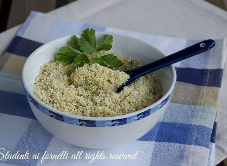 Panatura al parmigiano per carne pesce e verdure