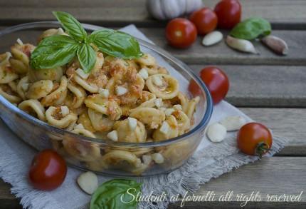 ricetta pasta al pesto trapanese fredda ricetta primo piatto veloce estivo gustoso