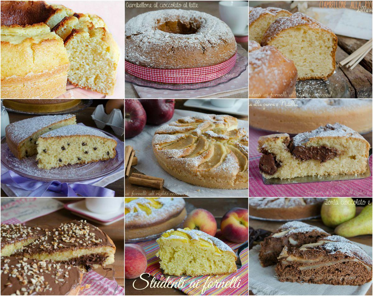 Ciambelle e torte per colazione e merenda ricette for Ricette per bimbi