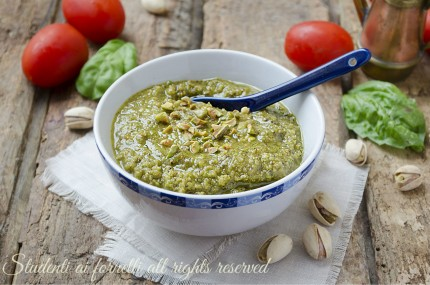 pesto di pistacchi fatto in casa facile e veloce per primi piatti lasagne