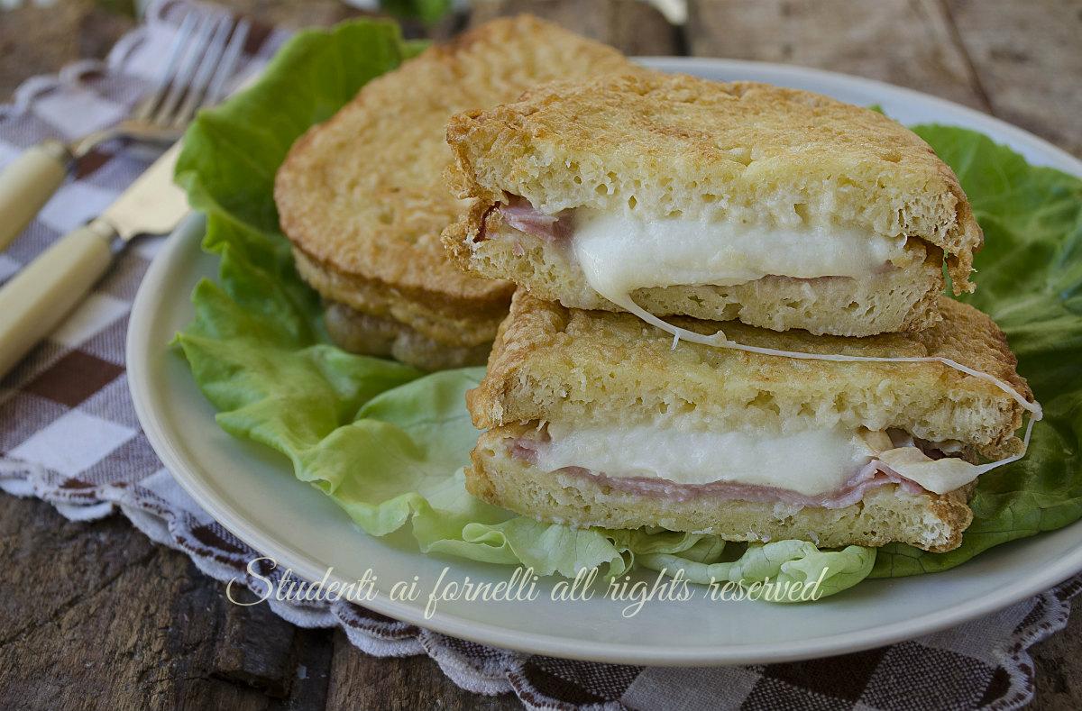 sandwich fritti prosciutto cotto e provola ricetta mozzarella in carrozza facile e gustosa