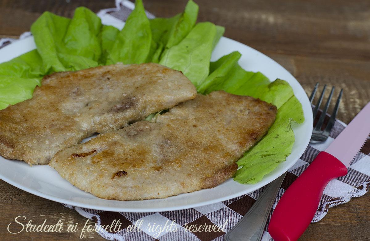 ricetta cotolette al forno senza uova al burro ricetta secondo piatto veloce gustoso