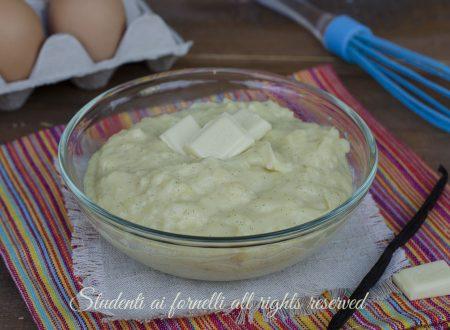 Crema pasticcera cioccolato bianco e vaniglia