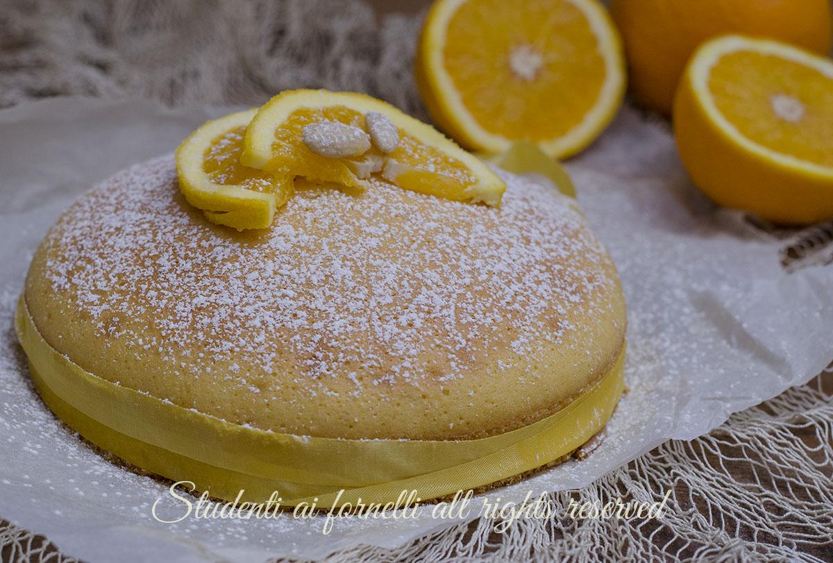 ricetta torta arancia e mandorle senza burro senza olio ricetta dolce soffice colazione