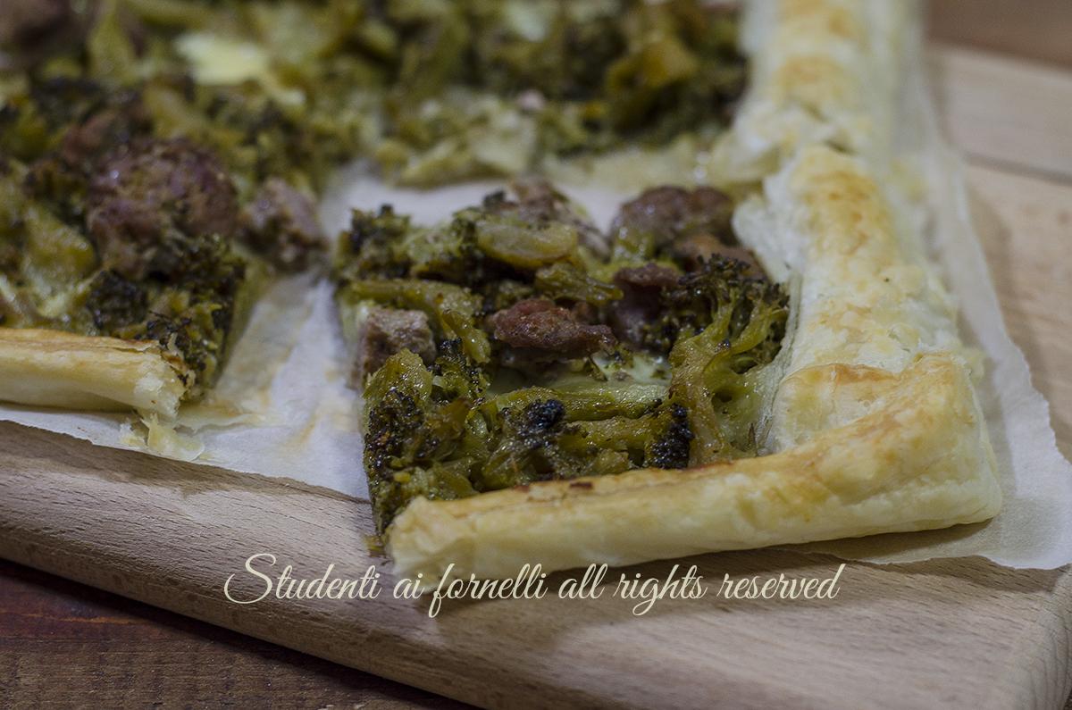 Ricetta pasta sfoglia broccoli e mozzarella