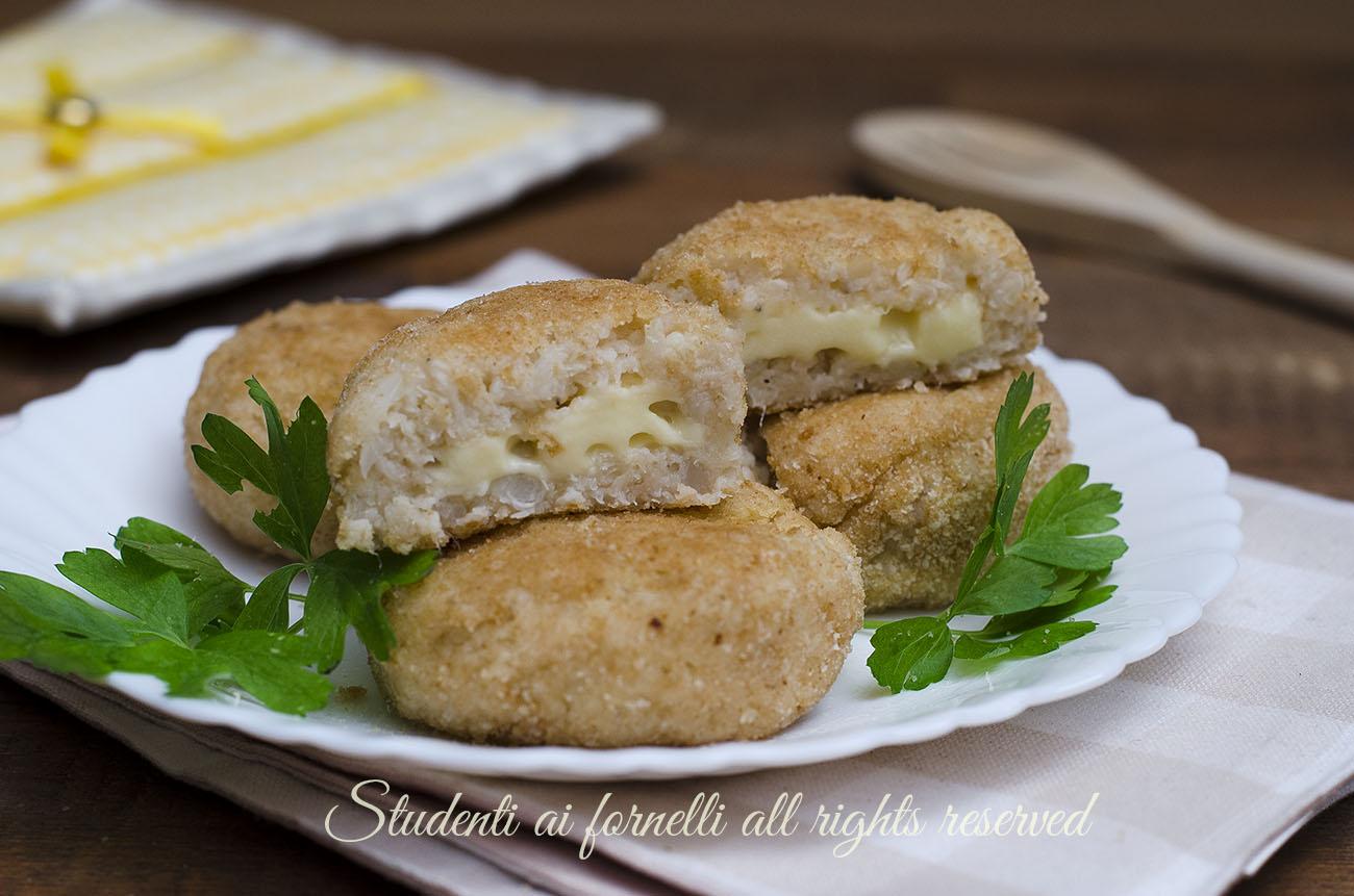 ricetta polpette di cavolfiore patate e formaggio