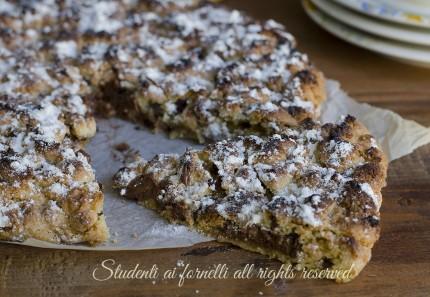 ricetta sbriciolata cookies alla nutella ricetta dolce goloso facile veloce