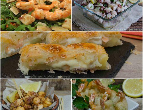 Antipasti pesce Natale 2015 ricette Vigilia facili e veloci