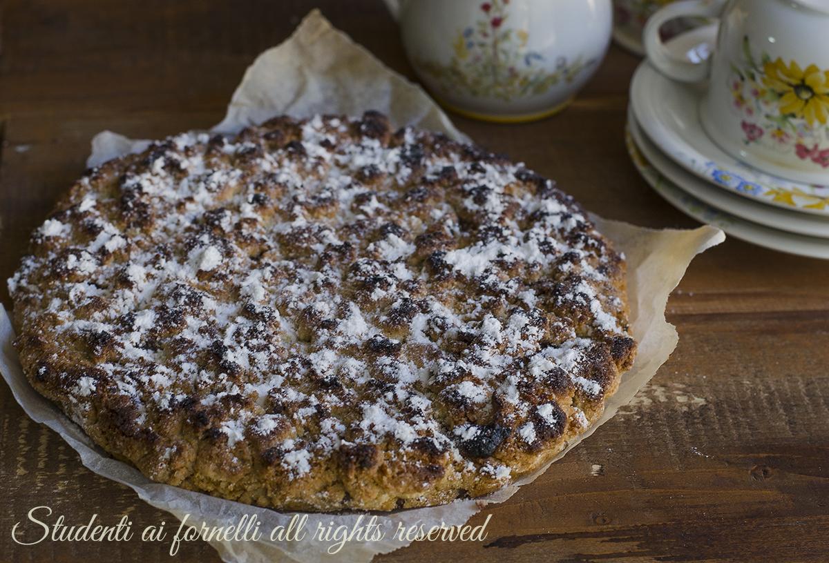 ricetta sbriciolata cookies alla nutella ricetta dolce merenda goloso facile veloce