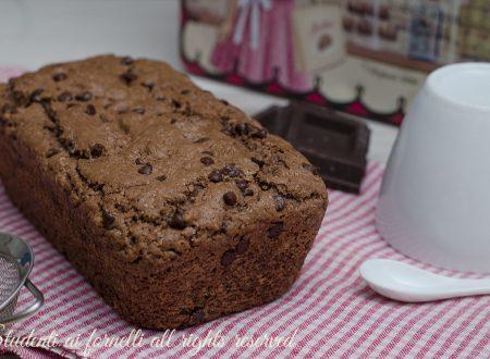 Plumcake al cioccolato senza uova latte e burro