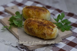 Crocchette di patate e ricotta senza uova