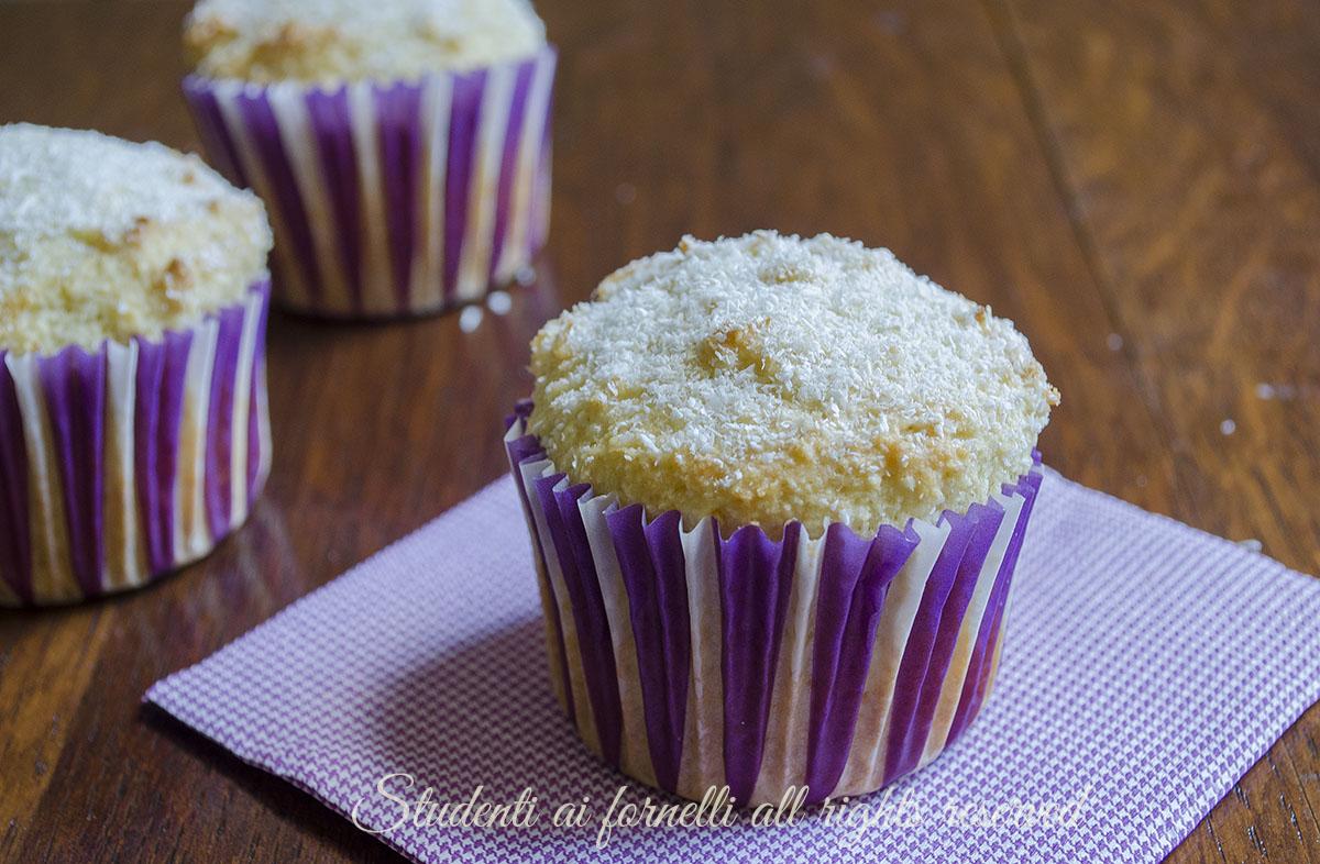 spesso Muffin al cocco e limone morbidi e golosi, ricetta BE92