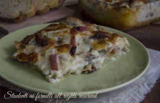 ricetta lasagne carciofi e speck con scamorza ricetta primo piatto facile gustoso