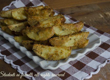 Patate croccanti e saporite al forno
