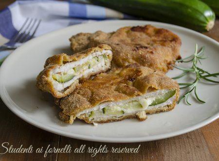 Cordon bleu zucchine e provola al forno