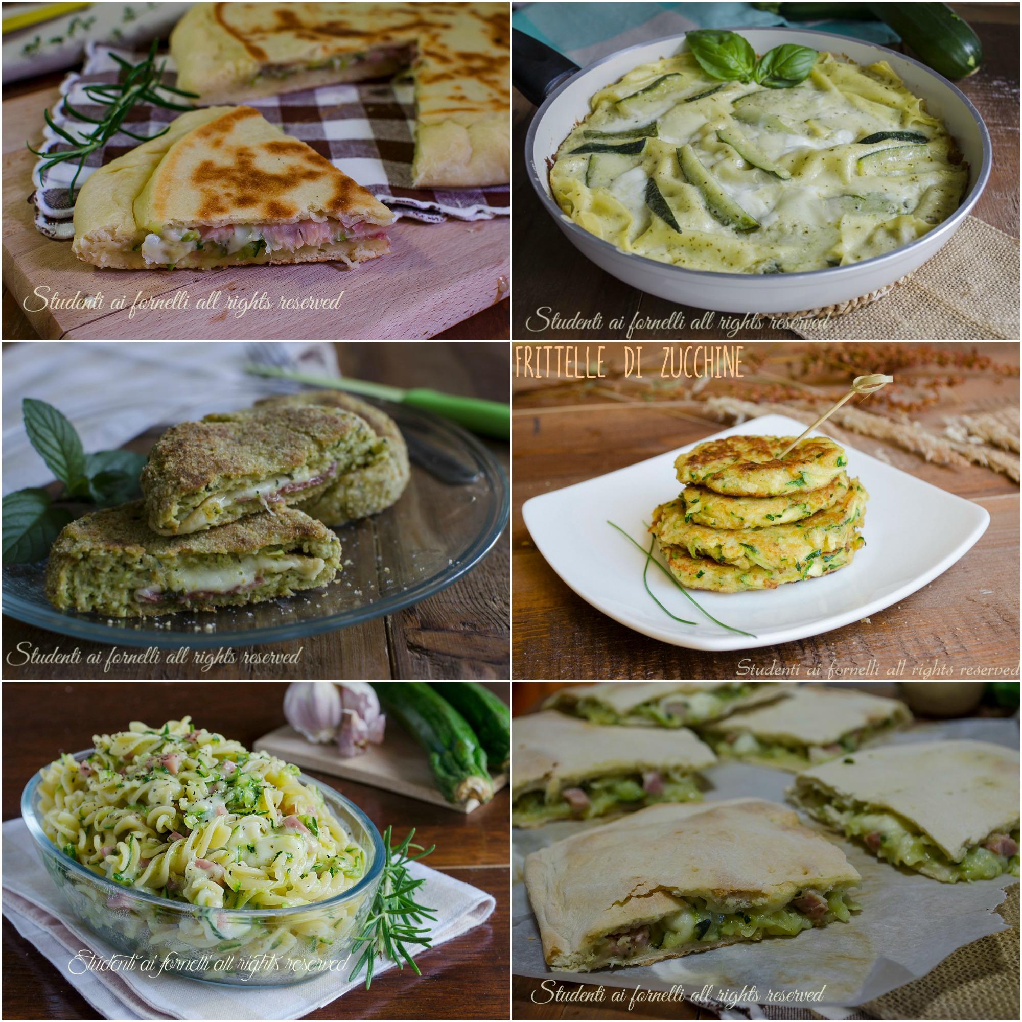 come cucinare le zucchine ricette con zucchine facili e