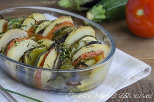 Verdure al forno alle erbe aromatiche
