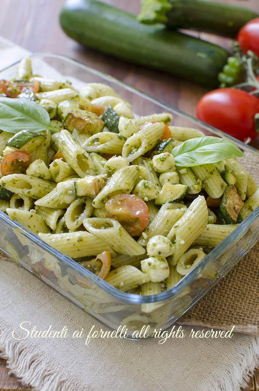 Ricette pasta pesto e zucchine