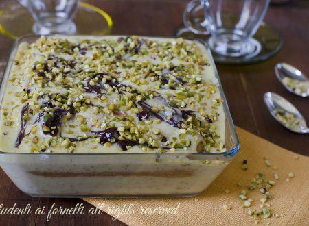 Tiramisù pistacchio e nutella