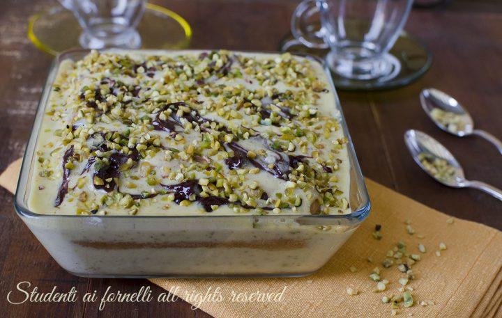 tiramisu pistacchio e nutella veloce ricetta dolce freddo senza cottura facile veloce