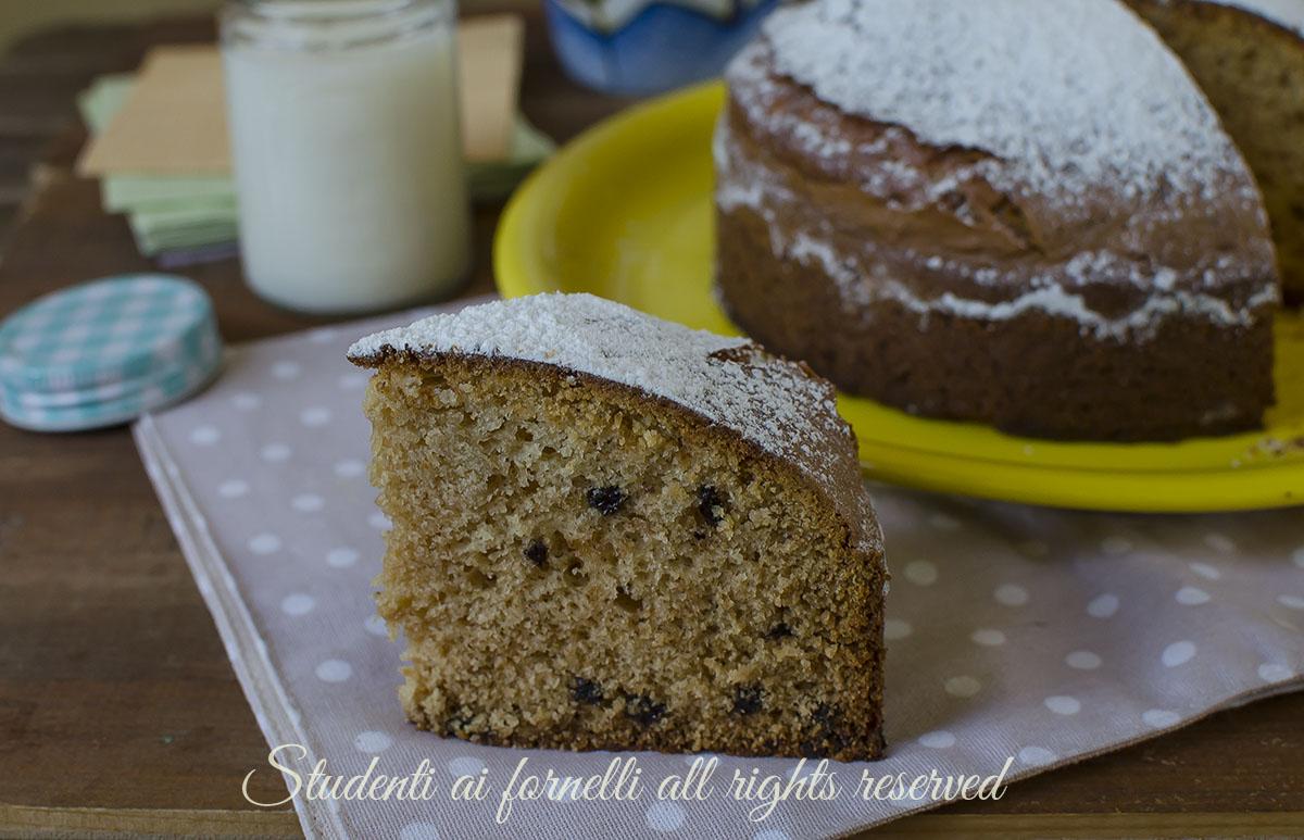 ricetta torta al miele e gocce di cioccolato ricetta torta 7 vasetti senza bilancia soffice