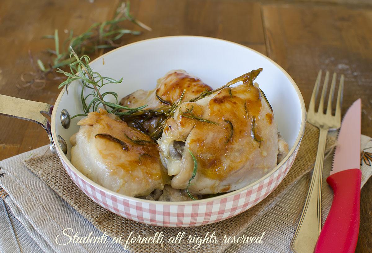 Pollo alla birra in padella ricetta secondo facile e veloce for Cucinare dietetico