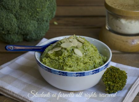 Pesto di broccoli e mandorle