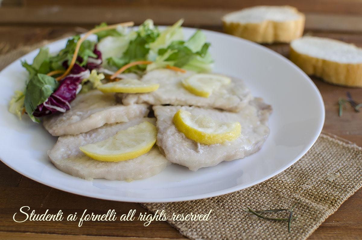 ricetta scaloppine al limone facili e veloci ricetta secondo gustoso