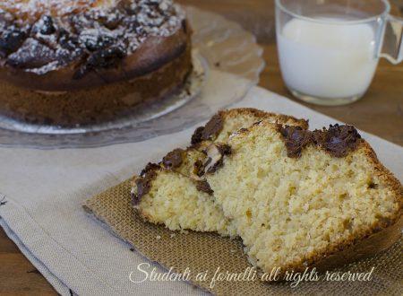 Torta cocco e nutella senza bilancia