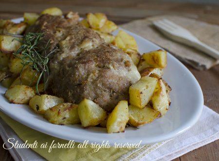 POLPETTONE AL FORNO MORBIDO con patate PERFETTE