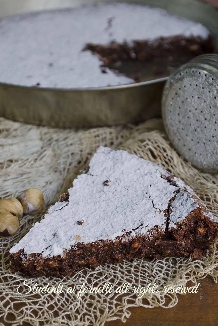 torta caprese alle nocciole tenerina ricetta torta morbida cioccolato e nocciole