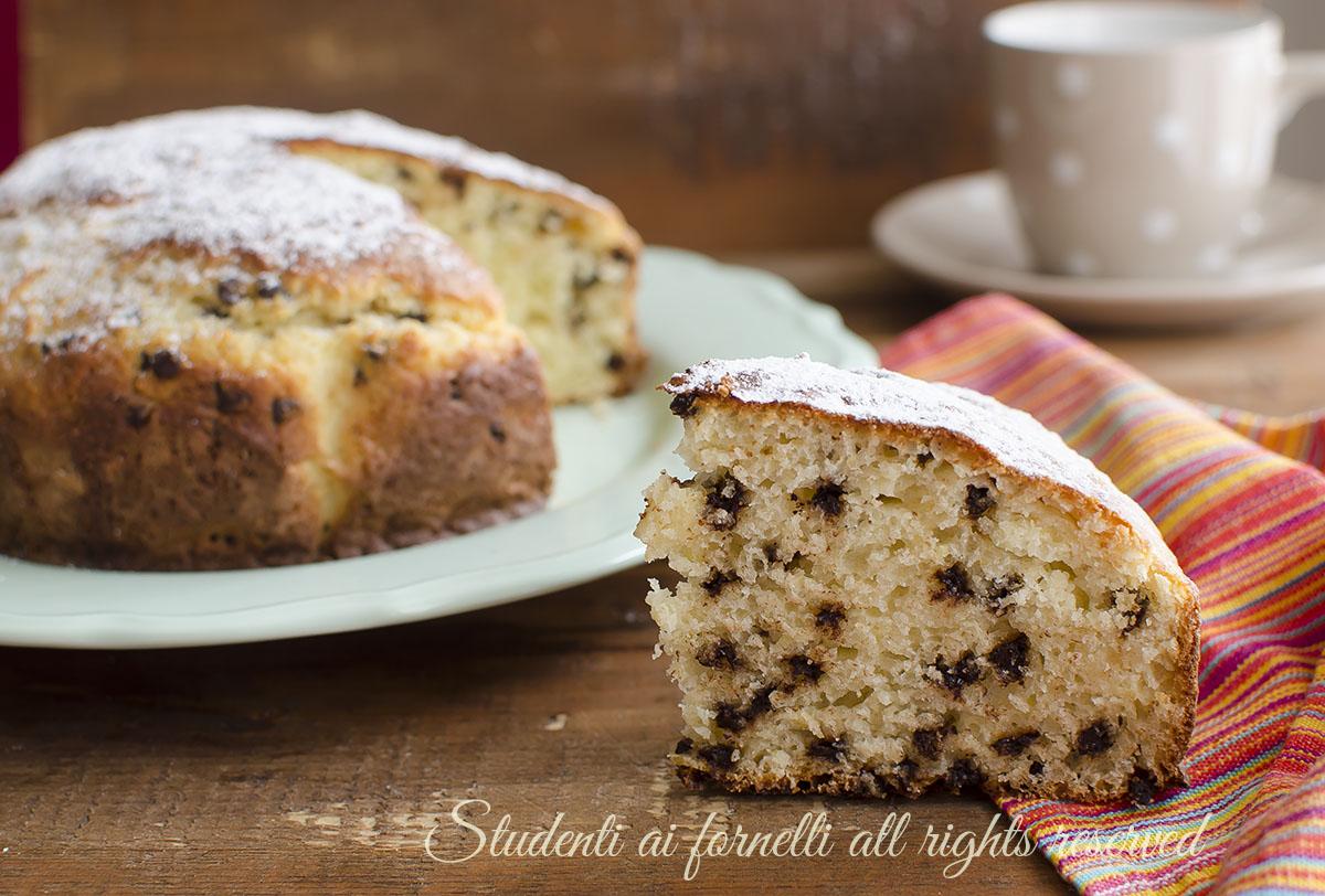 torta ricotta e cioccolato ricetta dolce merenda colazione soffice video ricetta