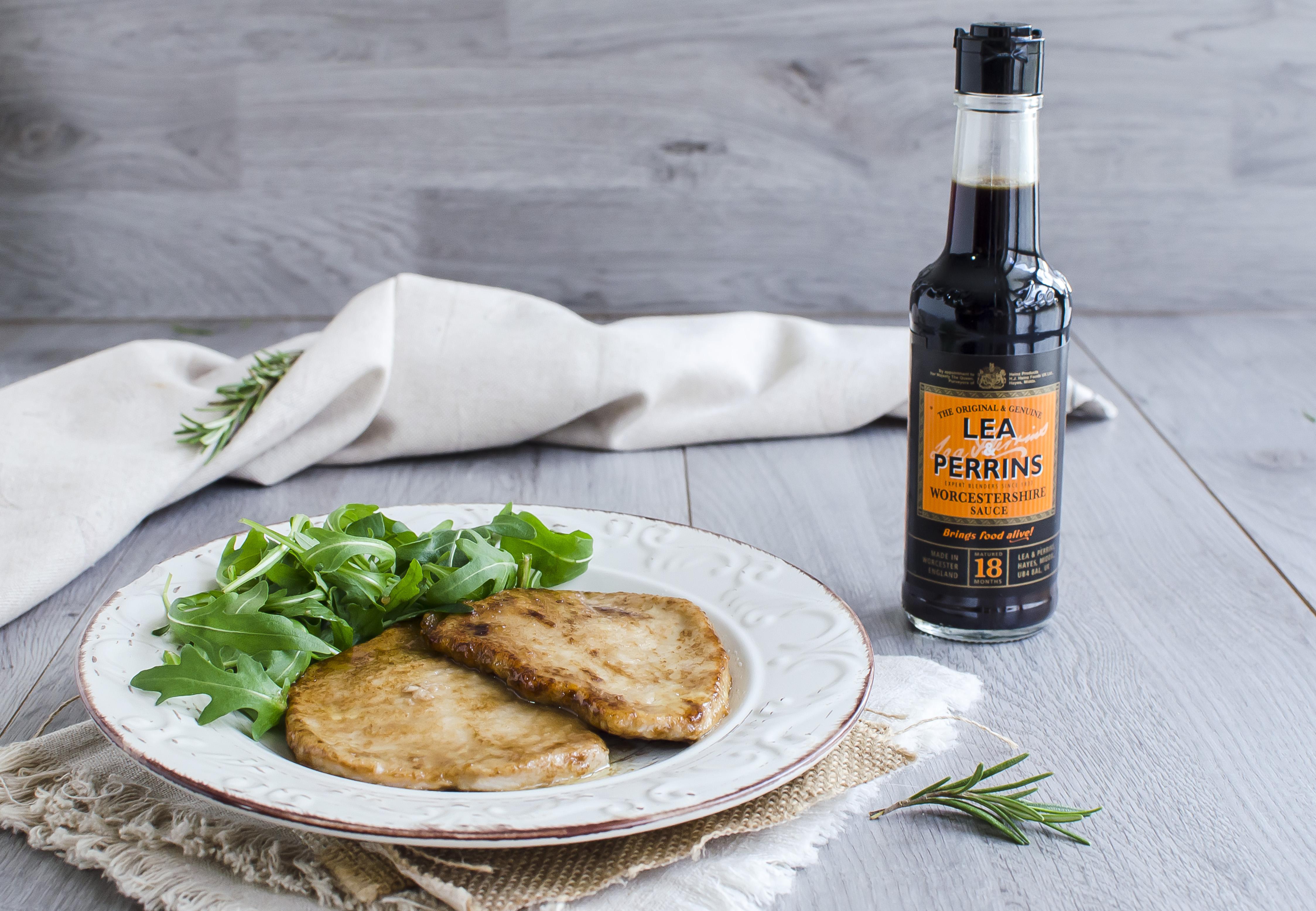 scaloppine alla salsa worcestershire facile e veloce ricetta secondo di carne