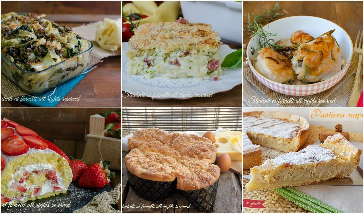 menu di pasqua 2017 ricette facili veloci antipasto dolce primi secondi pastiera