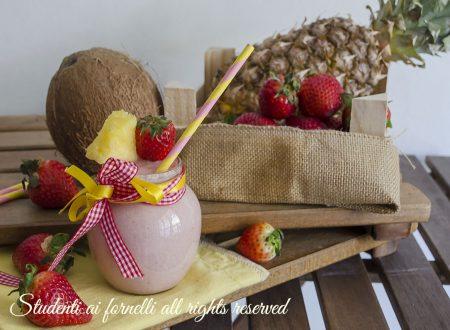 Succo alle fragole cocco e ananas