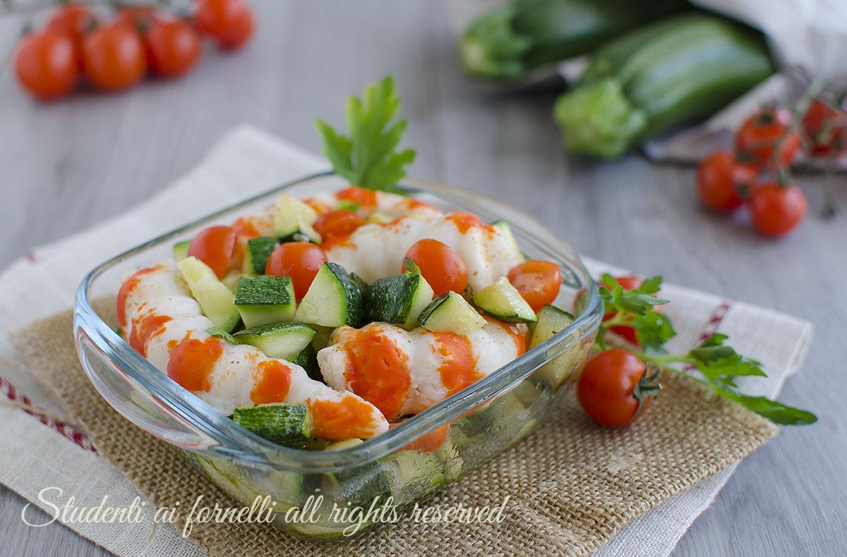 insalata gamberi e zucchine facili e veloci ricetta secondo contorno pesce
