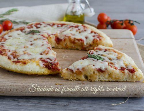 PIZZA FURBA 5 MINUTI in padella