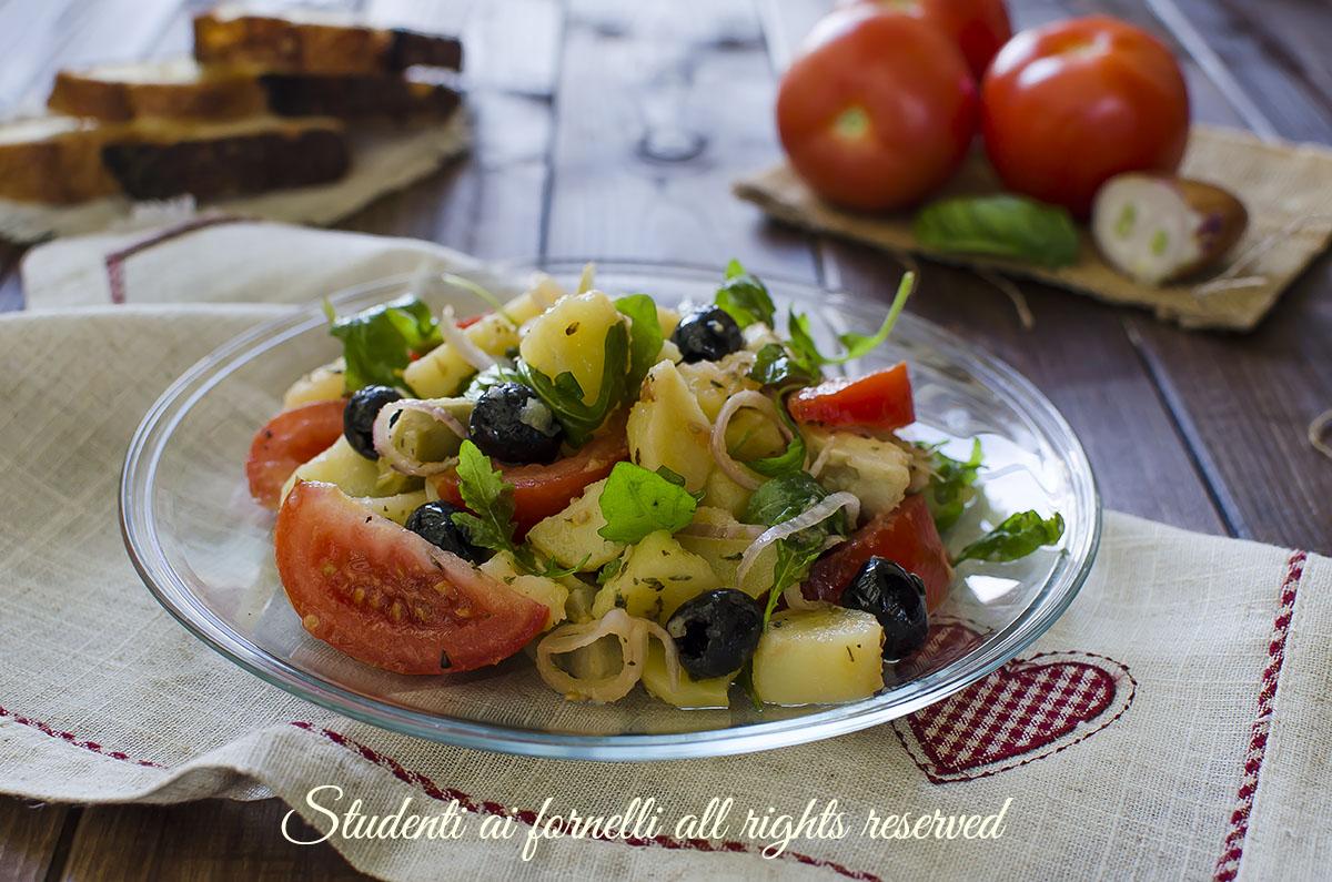 insalata fantasia con patate lesse estive ricetta insalatona veloce estate