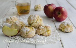 biscotti alle mele morbidi ricetta dolci facile veloce